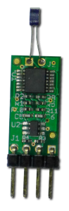 TI2C module with Platinum RTD element attached.